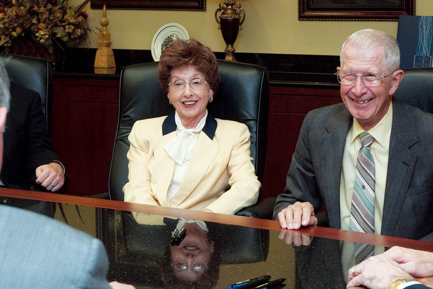 This is a photo of donors William and Doris Fulks.