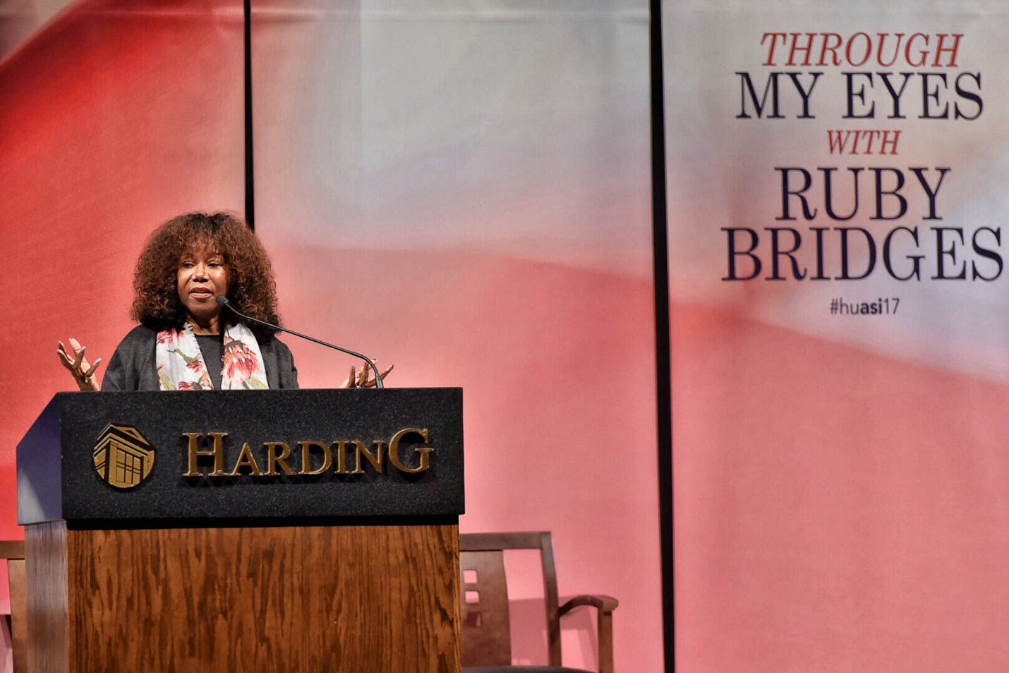 This is a photo of Ruby Bridges.