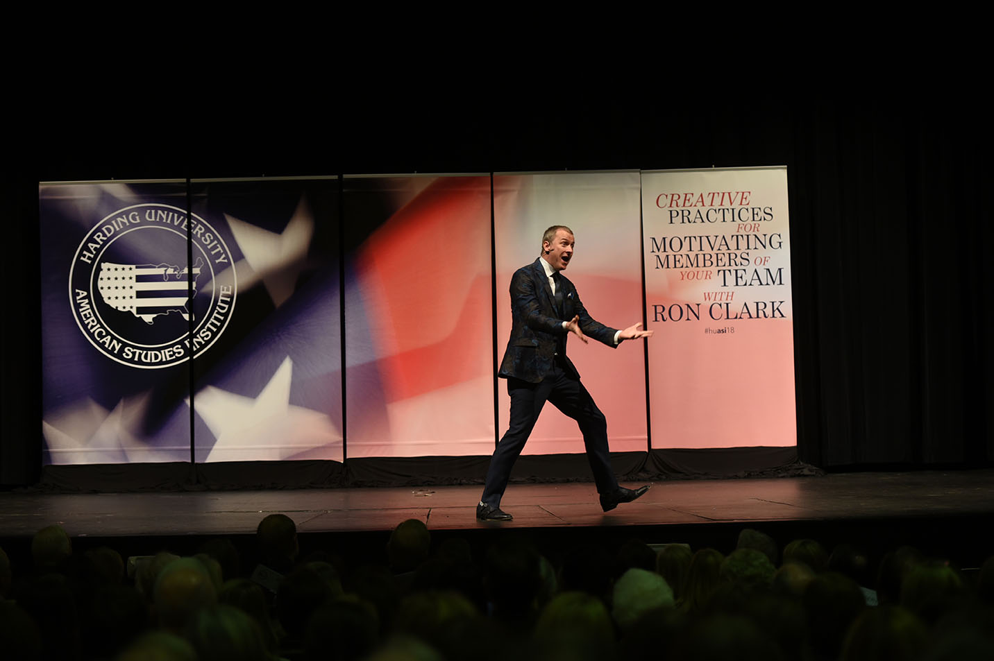 This is a photo of Ron Clark.