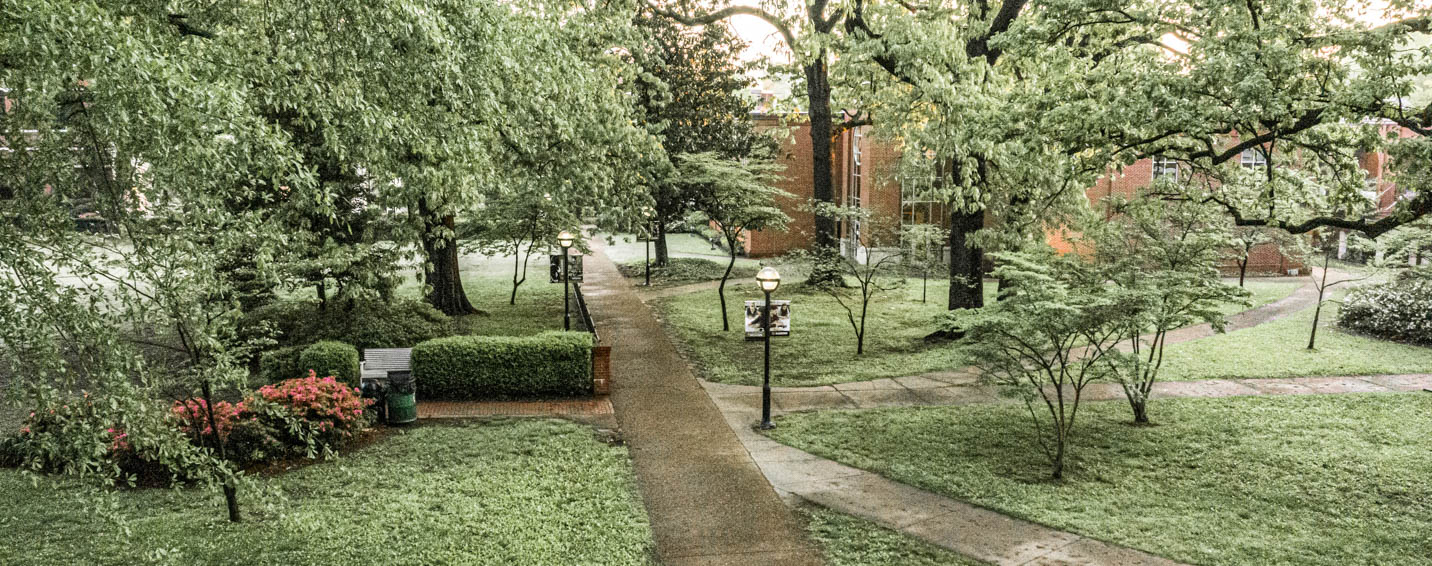 This is a photo taken on campus at Harding University.