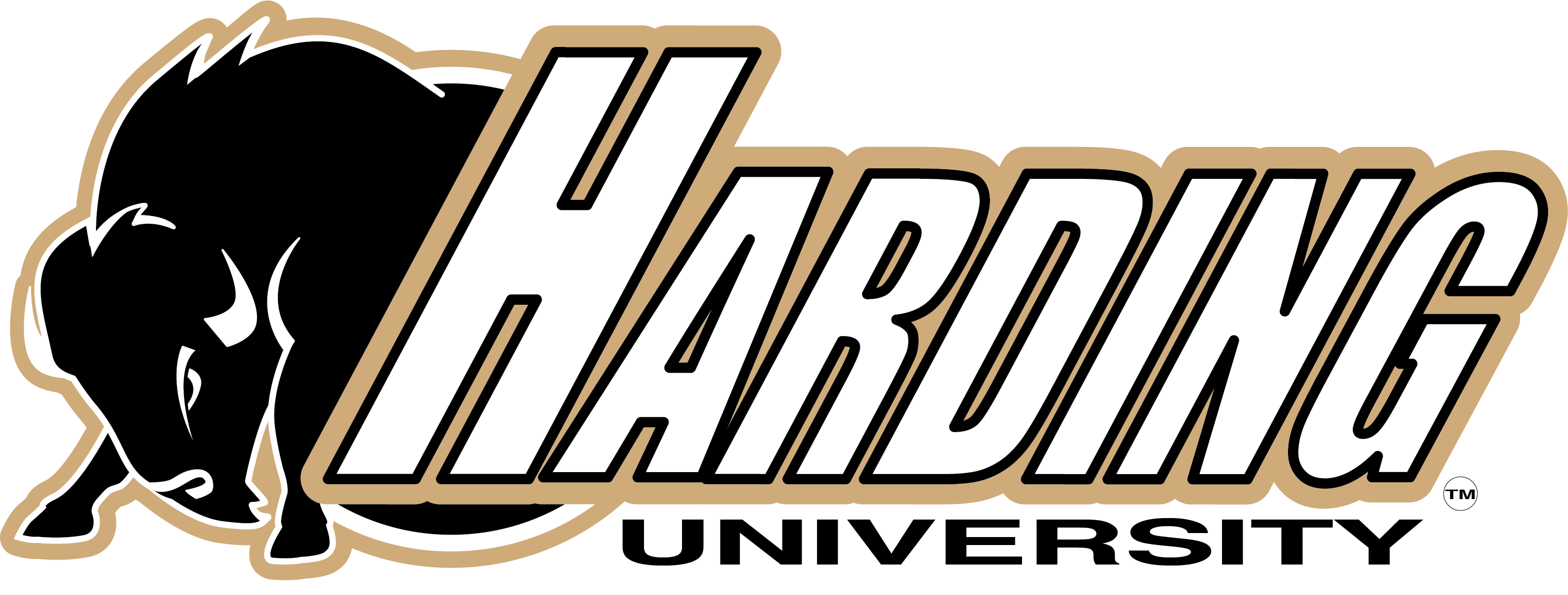 This is the logo for Harding Sports.