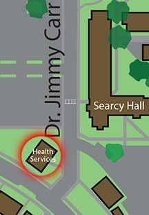 Health Services map